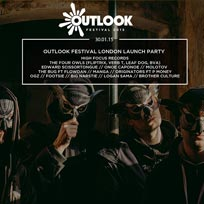 Outlook Festival Launch Party