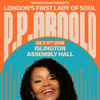 P.P. Arnold at Islington Assembly Hall on Friday 11th October 2019