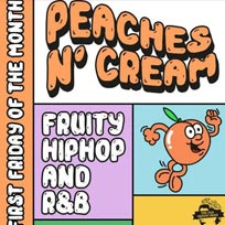 Peaches N' Cream at The Old Queen's Head on Friday 1st March 2019