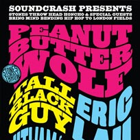 Peanut Butter Wolf  at Hangar on Friday 14th September 2018