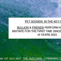 Pet Sounds In The Key Of Dee at Jazz Cafe on Saturday 1st July 2017