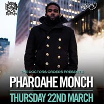 Pharoahe Monch at Brixton Jamm on Thursday 22nd March 2018