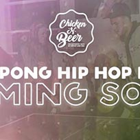 Beer/Ping Pong 'N' Hip Hop Party at SiNK on Friday 31st March 2017