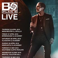 Plan B at Brixton Academy on Thursday 3rd May 2018