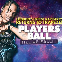 Players Ball at Trapeze on Friday 27th September 2019