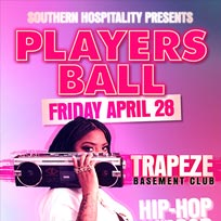 Players Ball at Trapeze on Friday 28th April 2017
