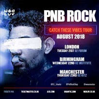 PNB Rock at The Forum on Tuesday 21st August 2018