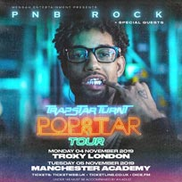 PNB Rock at The Troxy on Monday 4th November 2019
