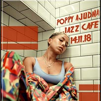 Poppy Ajudha at Jazz Cafe on Wednesday 14th November 2018