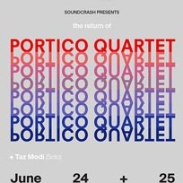 Portico Quartet at Archspace on Saturday 24th June 2017