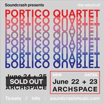 Portico Quartet at Archspace on Thursday 22nd June 2017