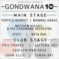Gondwana 10 w/ Portico Quartet at The Roundhouse on Saturday 20th October 2018