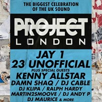 Jay1 & 23 UnOfficial at Ministry of Sound on Thursday 4th July 2019