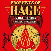 Prophets of Rage at The Forum on Monday 13th November 2017