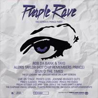 Purple Rave at Clapham Grand on Friday 21st October 2016