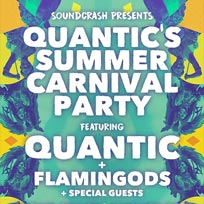 Quantic's Carnival Afterparty at The Dome on Sunday 28th August 2016