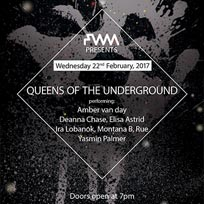Queens of the Underground at The Good Ship on Wednesday 22nd February 2017