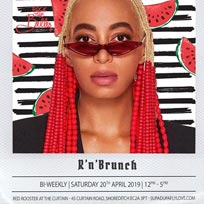 R'n'Brunch at Red Rooster Shoreditch on Saturday 20th April 2019
