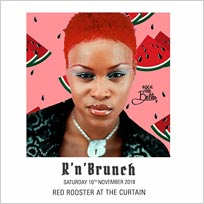R'n'Brunch at Red Rooster Shoreditch on Saturday 10th November 2018