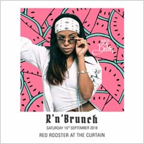 R'n'Brunch at Red Rooster Shoreditch on Saturday 15th September 2018