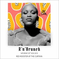 R'n'Brunch at The Curtain on Saturday 30th November 2019