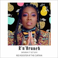 R'n'Brunch at The Curtain on Saturday 5th October 2019