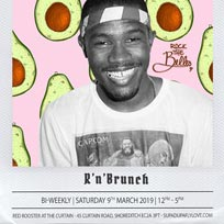 R'n'Brunch at Red Rooster Shoreditch on Saturday 9th March 2019