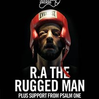 RA The Rugged Man at Brixton Jamm on Thursday 10th May 2018