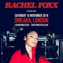 Rachel Foxx at Omeara on Saturday 10th November 2018