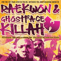 Raekwon & Ghostface Killah at The Forum on Sunday 25th September 2016