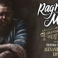 Rag'n'Bone Man at Alexandra Palace on Thursday 8th March 2018