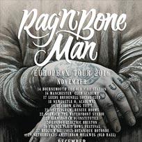 Rag 'n' Bone Man at Electric Brixton on Thursday 24th November 2016