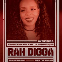 Rah Digga at Chip Shop BXTN on Thursday 28th February 2019