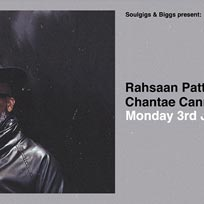 Rahsaan Patterson at Jazz Cafe on Monday 3rd June 2019