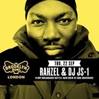 Rahzel & DJ JS-1 at Brooklyn Bowl on Thursday 22nd September 2016