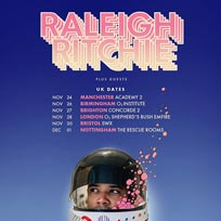 Raleigh Ritchie at Shepherd's Bush Empire on Wednesday 28th November 2018