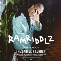 Rammridlz at The Garage on Wednesday 24th April 2019