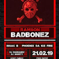 Ramson Badbonez at Chip Shop BXTN on Thursday 21st February 2019