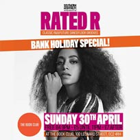 Rated R at Book Club on Sunday 30th April 2017