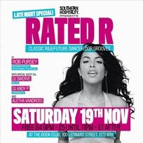 Rated R at Book Club on Saturday 19th November 2016