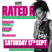 Rated R at Book Club on Saturday 17th September 2016