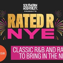 Rated R NYE at Book Club on Tuesday 31st December 2019