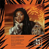 Ray BLK at Shepherd's Bush Empire on Monday 4th December 2017