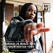 Ray Blk at The Forum on Thursday 28th March 2019