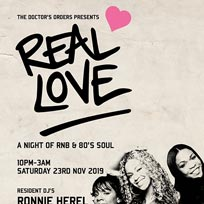 Real Love at Ace Hotel on Saturday 23rd November 2019