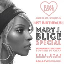 Real Love at Trapeze on Friday 21st October 2016