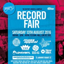 Record Fair at Southbank Centre on Saturday 13th August 2016