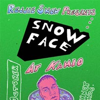 Rejjie Snow presents Snow Face at Kamio on Tuesday 18th October 2016