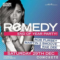 Remedy - Hip Hop + R&B - End Of Year Party! at Concrete on Saturday 29th December 2018