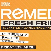 Remedy at Concrete on Friday 5th April 2019